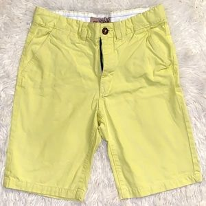 H&M lime green shorts